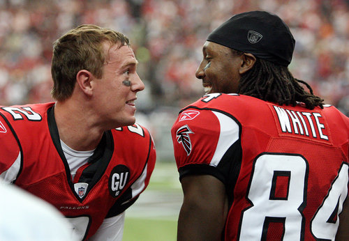 GAFollowers – Roddy White's Cleats For Falcons Season Opener | Sports