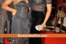 NeNe From Atlanta Housewives Wears a See Through Shirt at Christmas Party