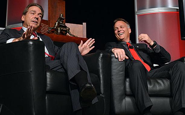 Nick Saban & Mark Richt