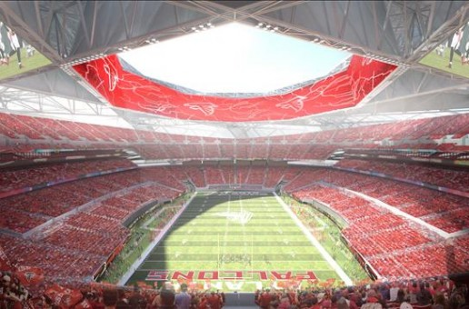 Concepts for New Falcons Stadium by 360 Architecture
