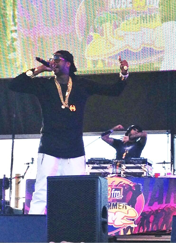 2 Chainz at Oakland Summer Jam