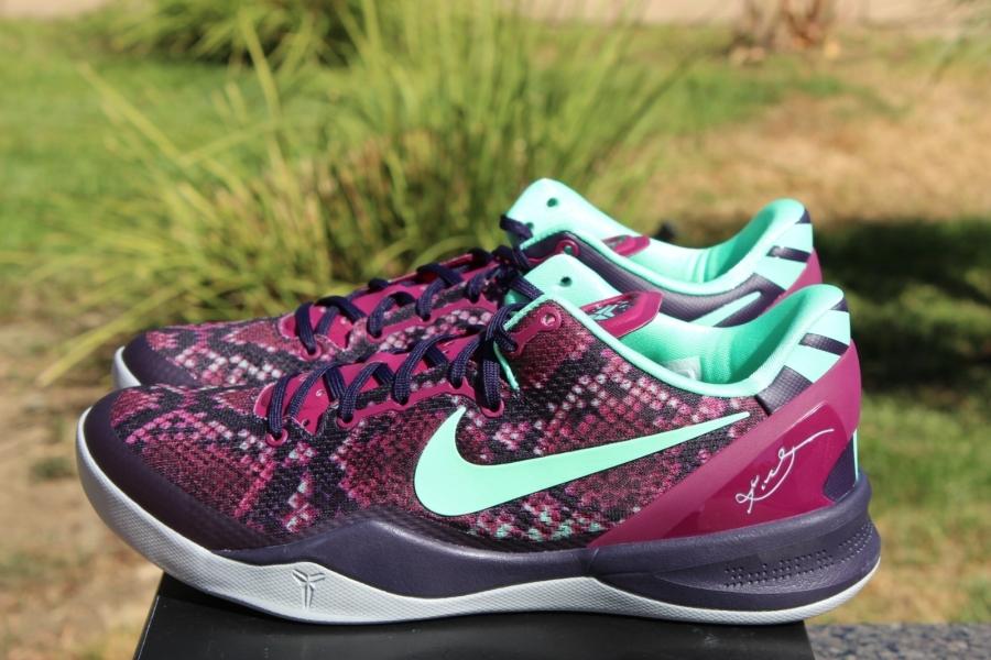 Kobe 8 Purple Dynasty Nike Kobe 8  Pit Viper