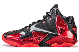 first rate 670a3 13dfe nike-lebron-11-black-red-release-date-thumb