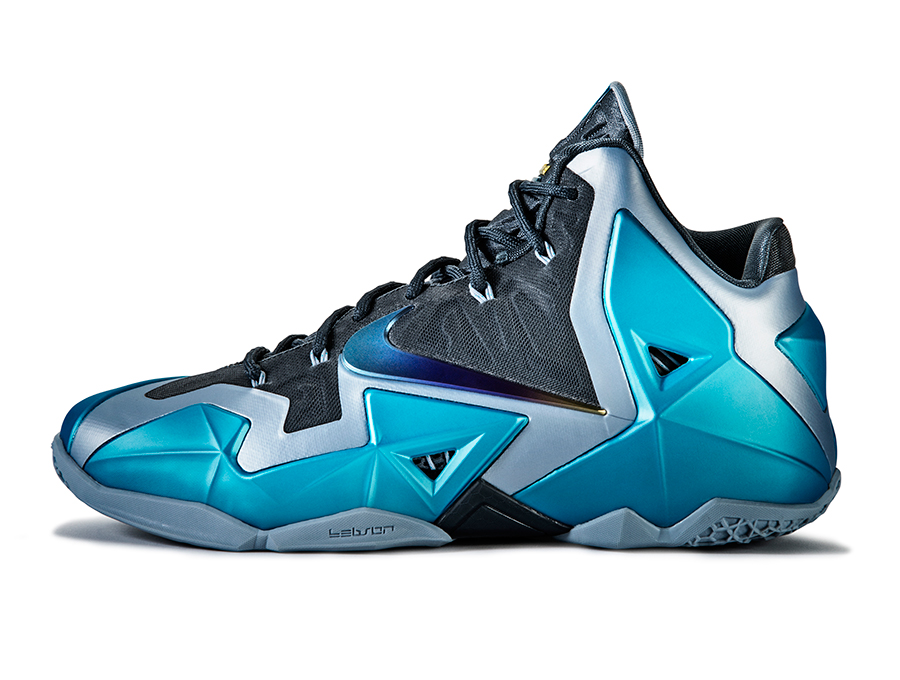 the latest a8ca7 91044 nike-lebron-11-gamma-blue-officially-unveiled-4. Nike LeBron 11. Color  Armory  Slate Gamma ...