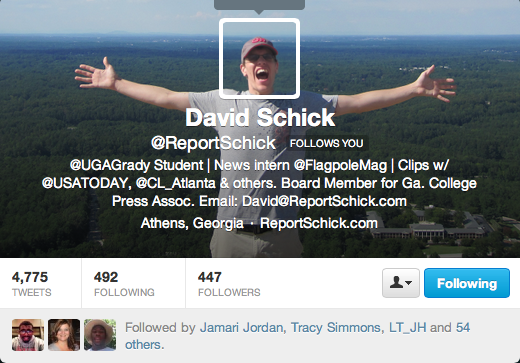 David Schick on Twitter