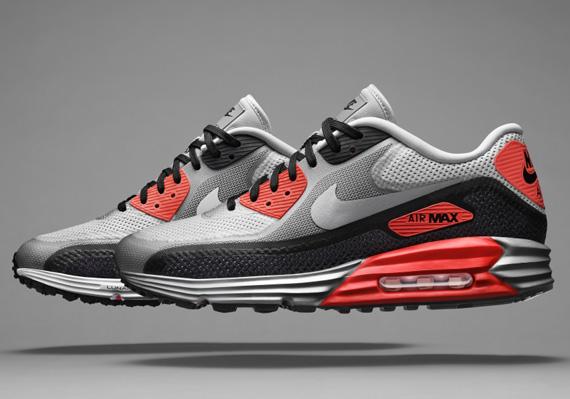 Nike Air Max Lunar90 Red Black White