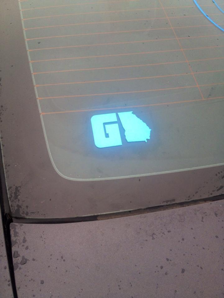 GAFollowers Baby Blue Sticker