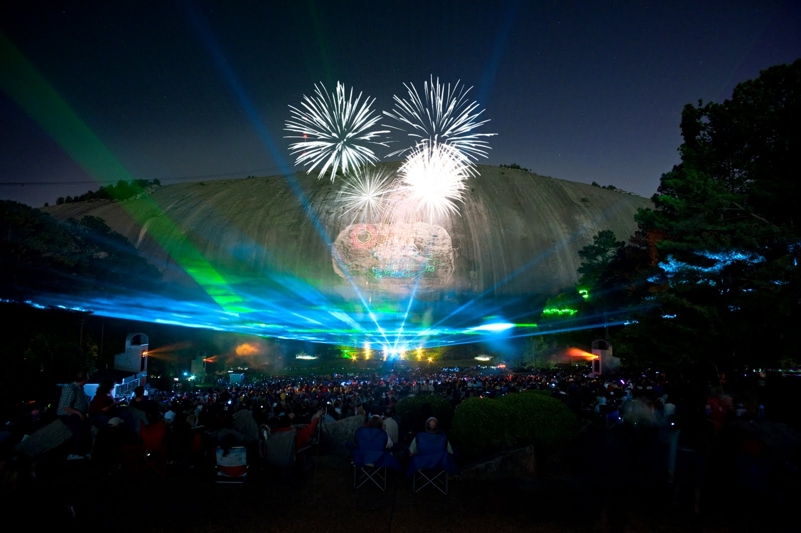 Best Places To Watch Fireworks In Atlanta