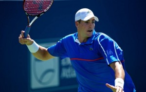 Former Georgia Bulldog, John Isner defended his BB&T Atlanta Open crown on Sunday at Atlantic Station  Photo by: Andrew Snook