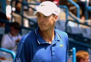John Isner at the BB&T Atlanta Open