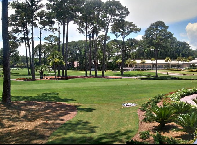 Harbour Town Golf Links from the Inn at Harbour Town