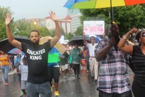 Michael Brown rally in Atlanta