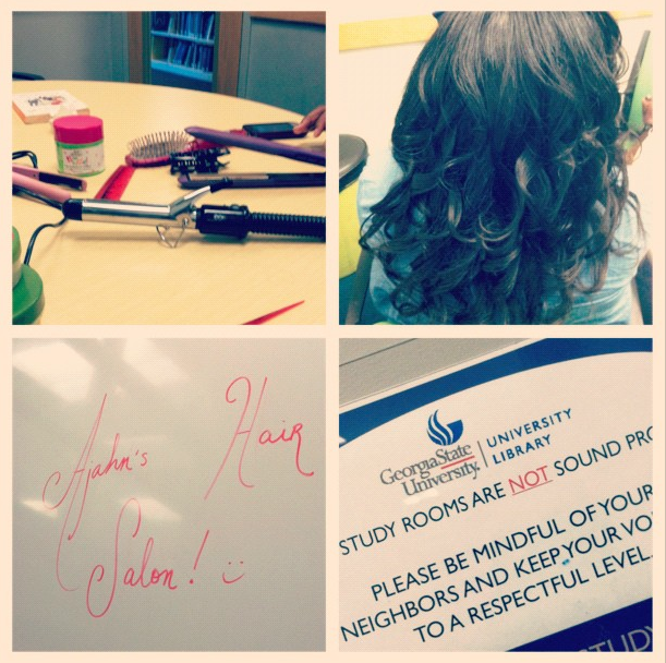 Hair Salon in GSU Library