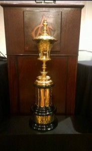 The Havemeyer Trophy for the winner of the 2014 U.S. Amateur