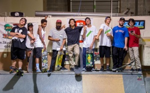 Skateboarders of the SLS hit Kennesaw on Saturday, September 13 for Cricket Wireless