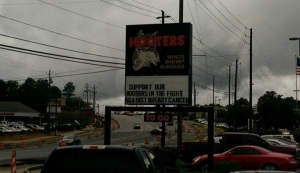 Hooters tackles Breast Cancer