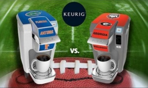 It's Florida Keurig vs. Georgia Keurig