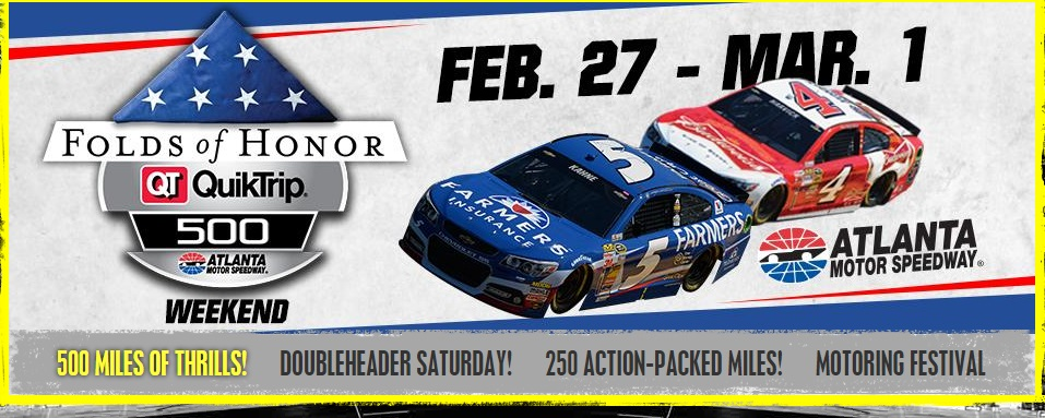 A great deal from atlanta motor speedway for atlanta 39 s for Events at atlanta motor speedway