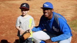 Participate in a free baseball clinic with Georgia State Baseball players Photo: Georgia State Sports Communications