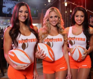 Come to your local Hooters in January