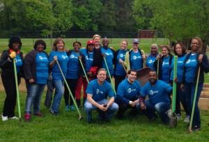 AT&T volunteers
