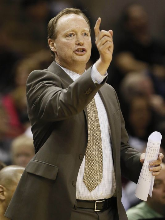 Coach Mike Budenholzer will look to lead the Hawks to the NBA Championship come 2016.