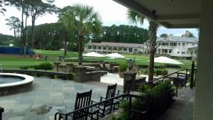 Overlooking Harbour Town Golf Links