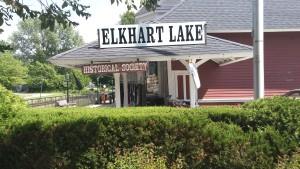 The quaint village of Elkhart Lake