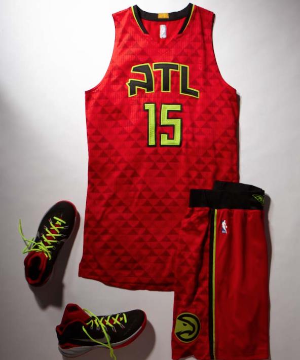 Atlanta Hawks new jersey's