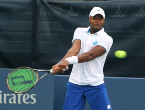 Atlantan, Donald Young will be in action on Monday at Atlantic Station