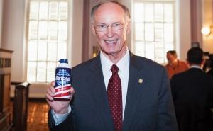 Alabama Governor, Robert Bentley, welcomes the Barbasol Championship