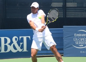 Former NCAA champ, Steve Johnson will be playing in the 2015 BB&T Atlanta Open