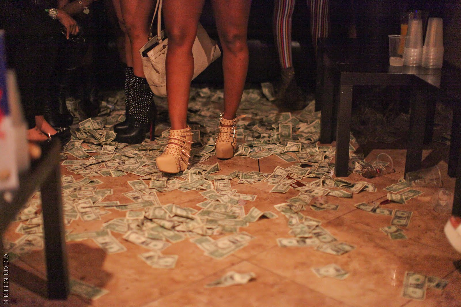 Magic city strip club floor