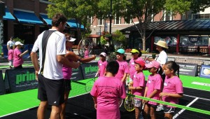 Kids can turn out to play tennis in Atlanta this September
