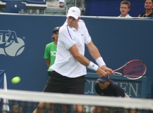 John Isner is once again into the finals of the BB&T Atlanta Open