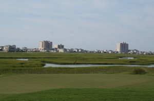 A view of the Grand Strand and Myrtle Beach