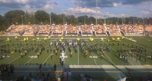 Kennesaw State's band performs at halftime