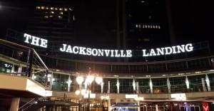 The iconic Jacksonville Landing