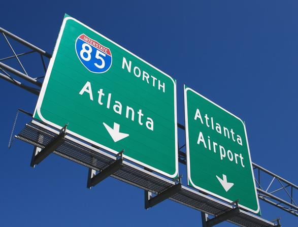 Atlanta Freeway Signs Royalty Free Stock Photos - Image ...