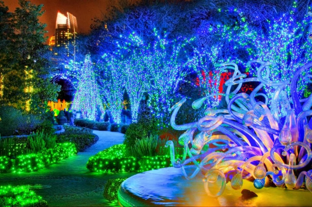 Georgia Garden: 6 Best Places To See Christmas Lights In Atlanta