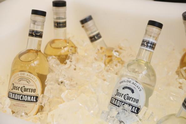 Madonna drinks Jose Cuervo Tradicional