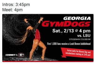 UGA to give away a Leah Brown bobblehead on Saturday