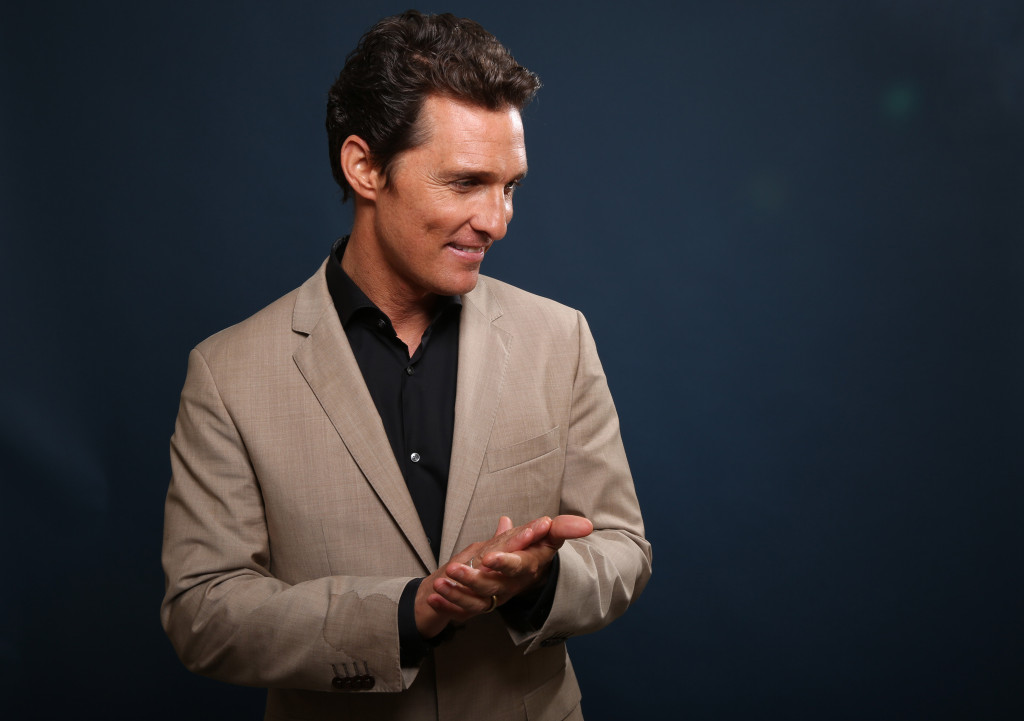 Matthew McConaughey (Photo by Matt Sayles/Invision/AP)