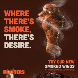Hooters Smoked Wings