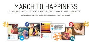 March to Happiness