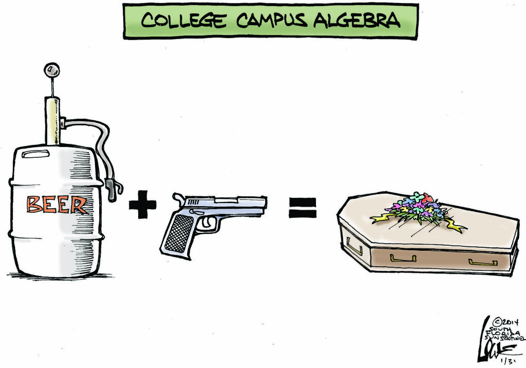 sfl-guns-on-college-campuses-20140130-001