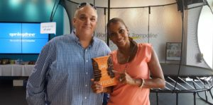Rick Limpert and Holly Robinson-Peete