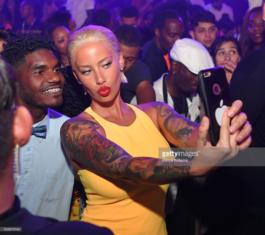 Amber Rose Hits Gold Room in Atlanta for Memorial Weekend - GAFollowers
