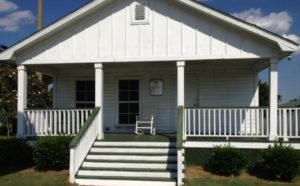 Hank Aaron's childhood home in Mobile