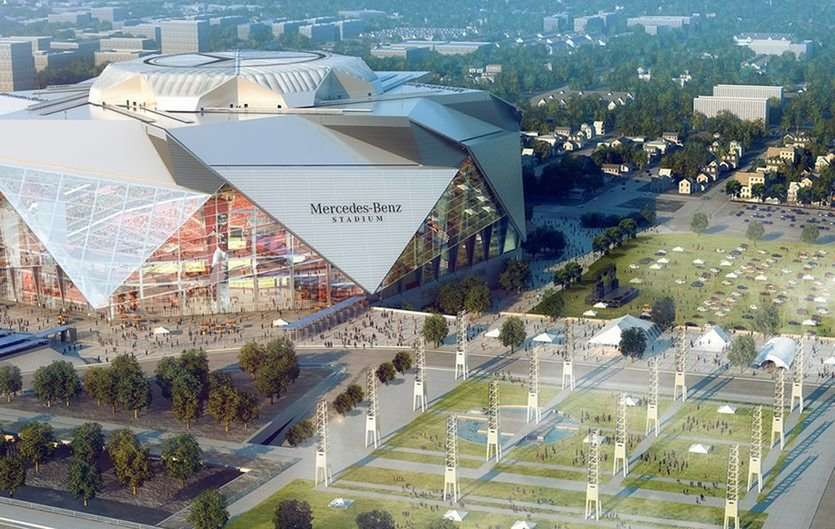 Hosting super bowl liii could have a 400 million impact for Hotels near mercedes benz stadium atlanta